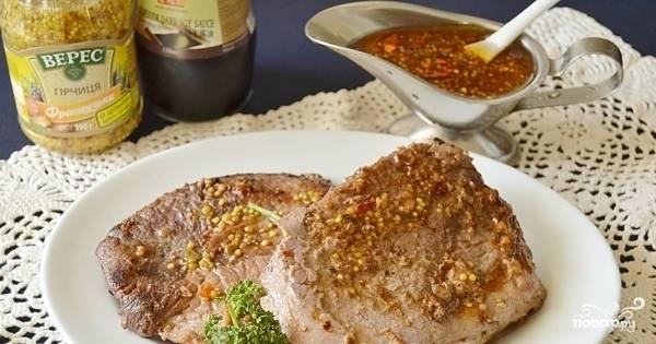 Данным маринадом следует хорошо обмазать мясо, ставив его мариноваться минимум на 10 часов.