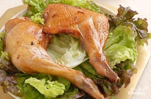 Куриные окорочка в фольге