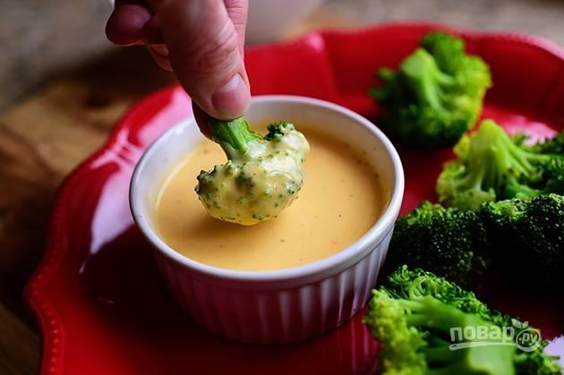 Сырный дип для овощей
