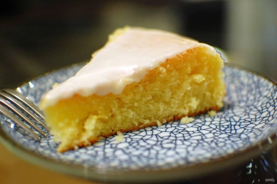 Рецепт лимонного пирога с картинками