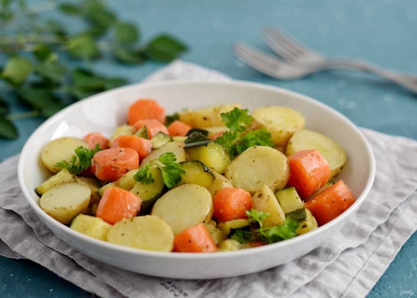 Глазированные овощи