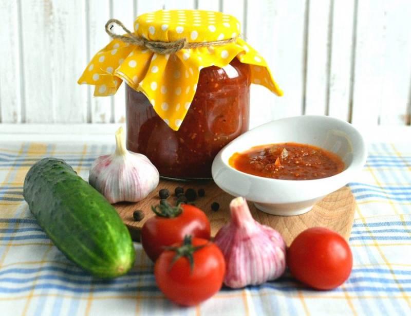 А зимой ароматный кетчуп порадует вас воспоминаниями о лете. Приятного аппетита!