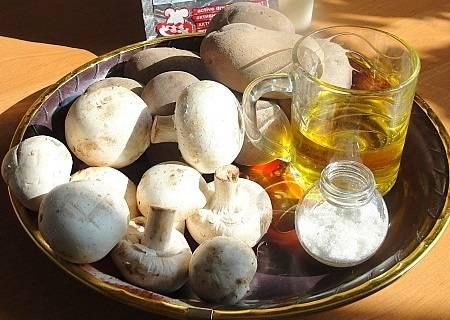 1. Для этого варианта подойдет абсолютно любая начинка, но в данном варианте используются грибы с картофелем. И не просто так.