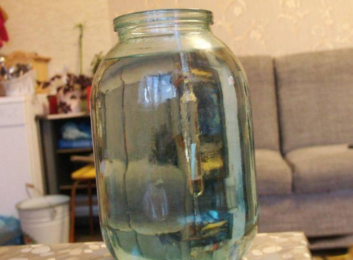 7. Подошел к концу наш простой рецепт самогона из варенья в домашних условиях. Регулируйте на свое усмотрение крепость напитка и при желании добавьте в банки цедру апельсина и/или лимона, например.