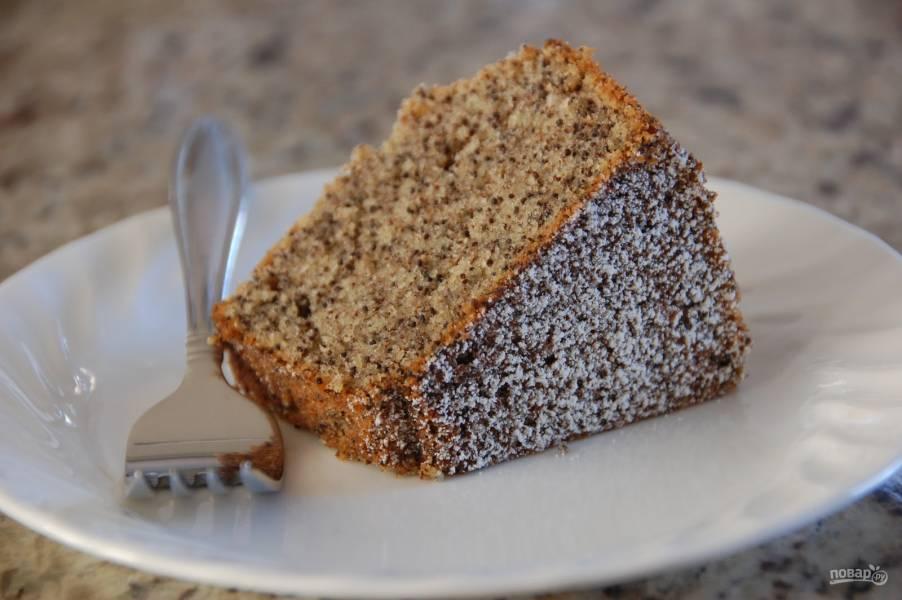 Домашний маковый пирог