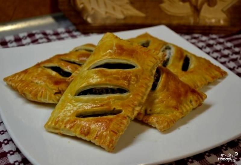 Пирожки со щавелем в духовке