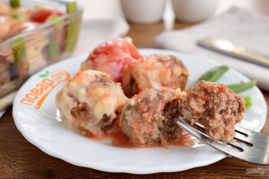 Подавайте булетты горячими с любимым гарниром. Приятного аппетита!