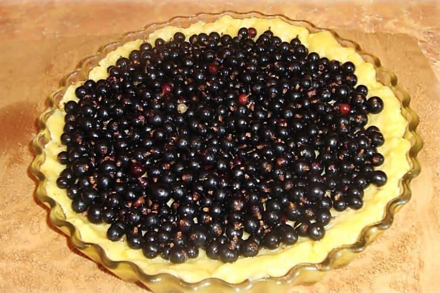 4. Вымыть и просушить ягоды. Использовать можно как красную, так и черную смородину. Все зависит от ваших вкусовых предпочтений.