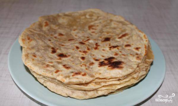 Слоеное тесто на сковороде