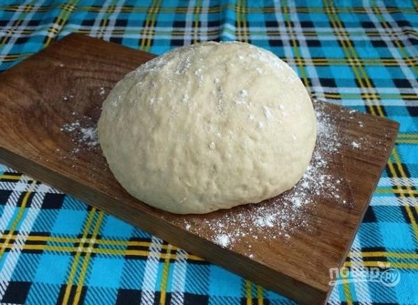 8. Вот и все. Воздушное, мягкое, эластичное тесто готово к дальнейшей работе.