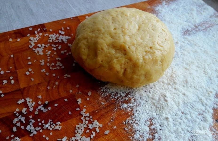 Тесто для заливного пирога (универсальное)