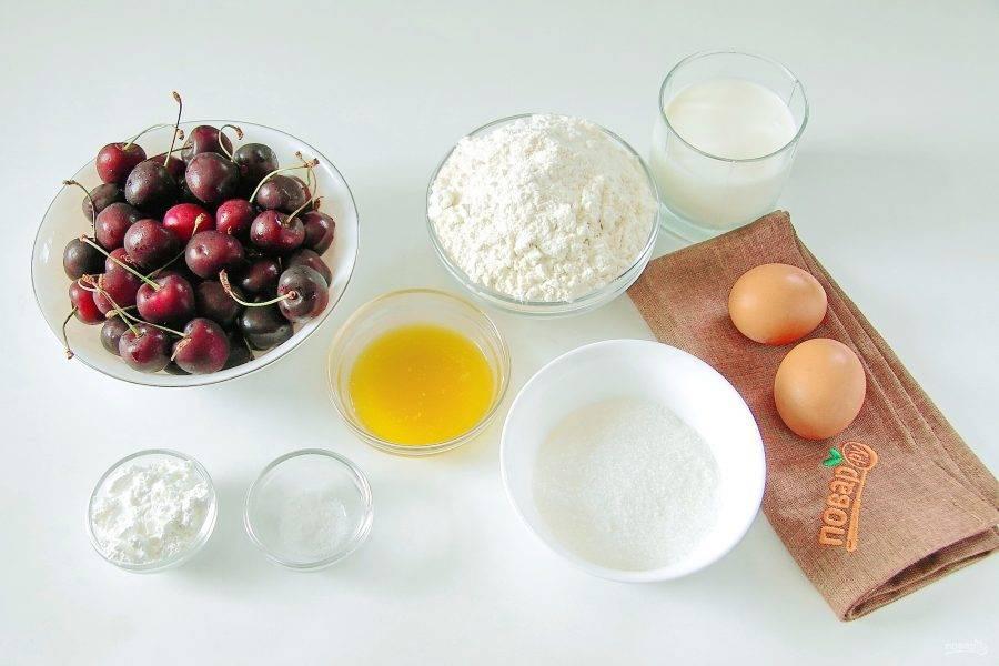 1. Подготовьте все необходимые ингредиенты.