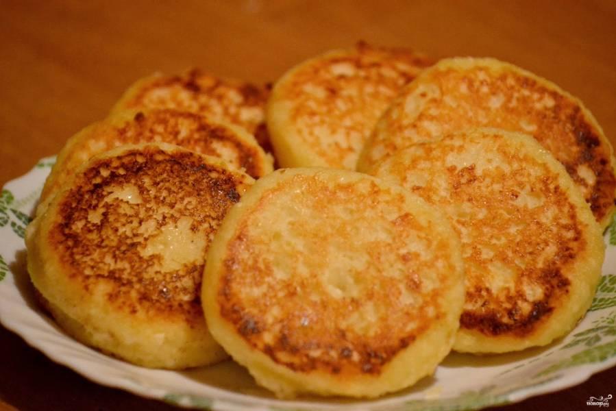 Сырники по Дюкану без отрубей