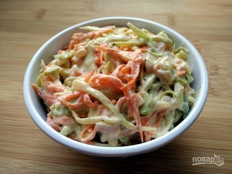 Салат с капустой Коул Слоу