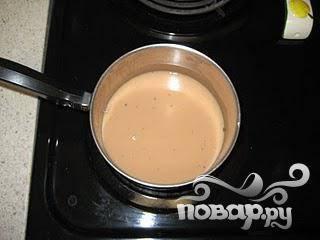 Довести чай до кипения.