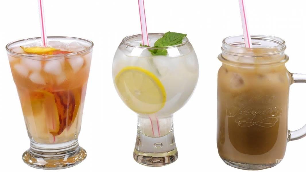 Летние освежающие напитки