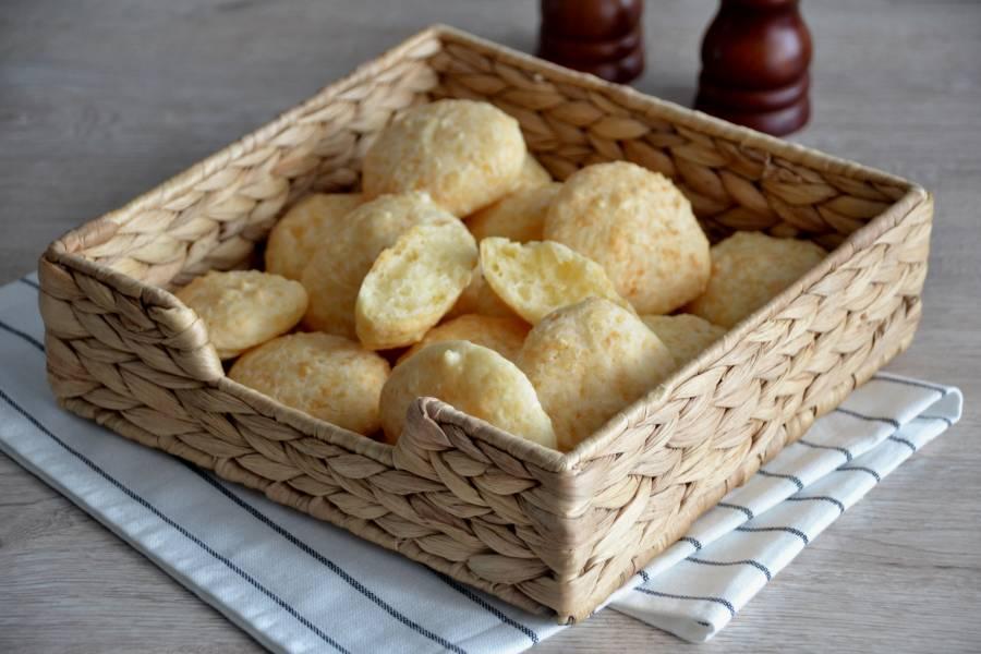 Сырный бразильский хлеб