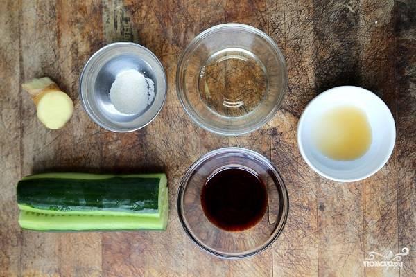 1. Набор ингредиентов, необходимых, чтобы повторить этот рецепт на своей кухне, довольно прост.