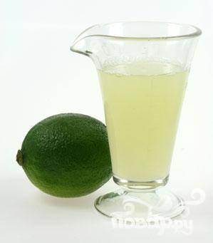 3. Если у вам нет концентрата лайма, вы можете заменить его свежевыжатым соком с мякотью 2 крупных лаймов.