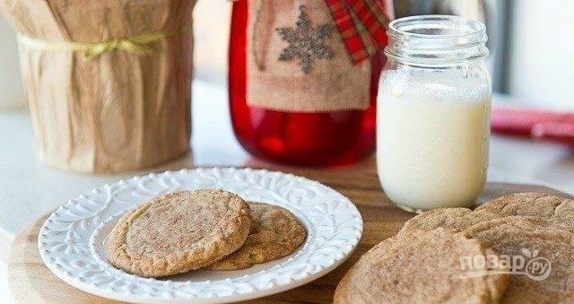5. Выпекайте печенье 10 минут в духовке при 190 градусах. Приятного чаепития!