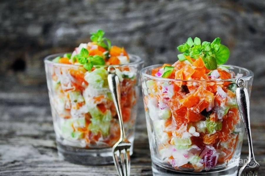 Интересный салат на день рождения