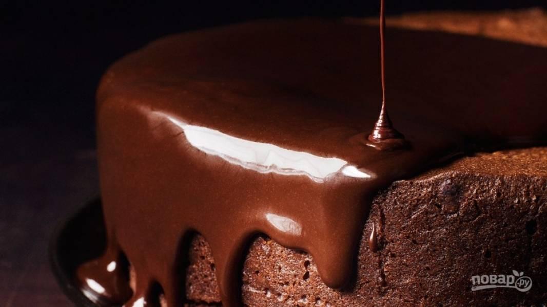 Шоколадная глазурь для торта из шоколада