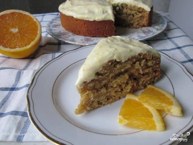 Тыквенный пирог с медом