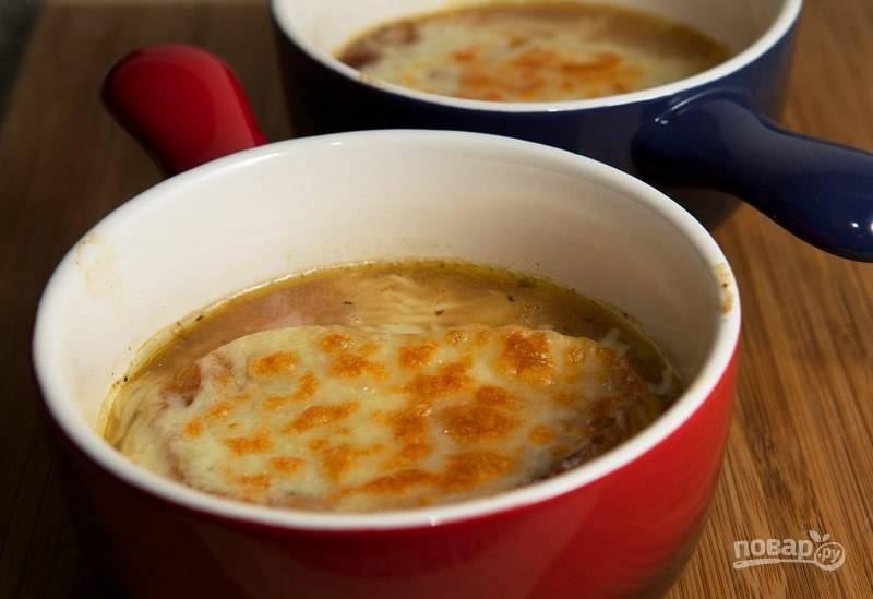 Луковый суп (классический французский)