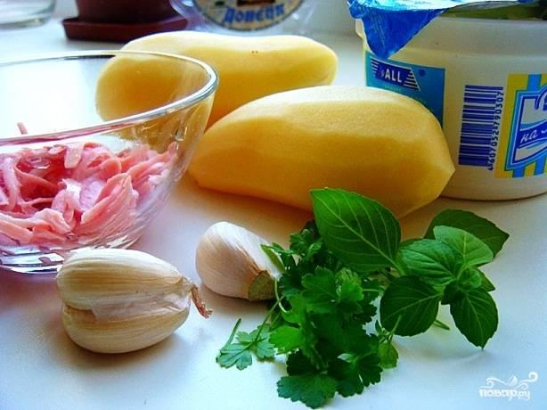 На фотографии - ингредиенты, из которых мы будем готовить сундучки.