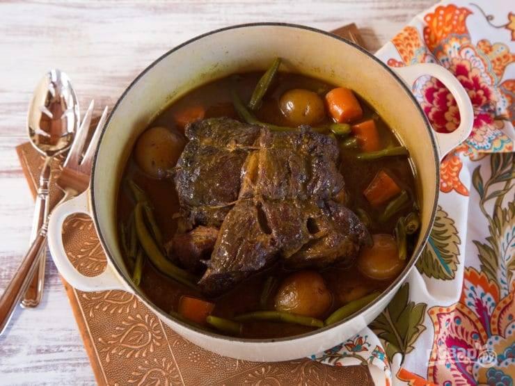 6. Запекайте блюдо ещё 80 минут в духовке. Приятного аппетита!