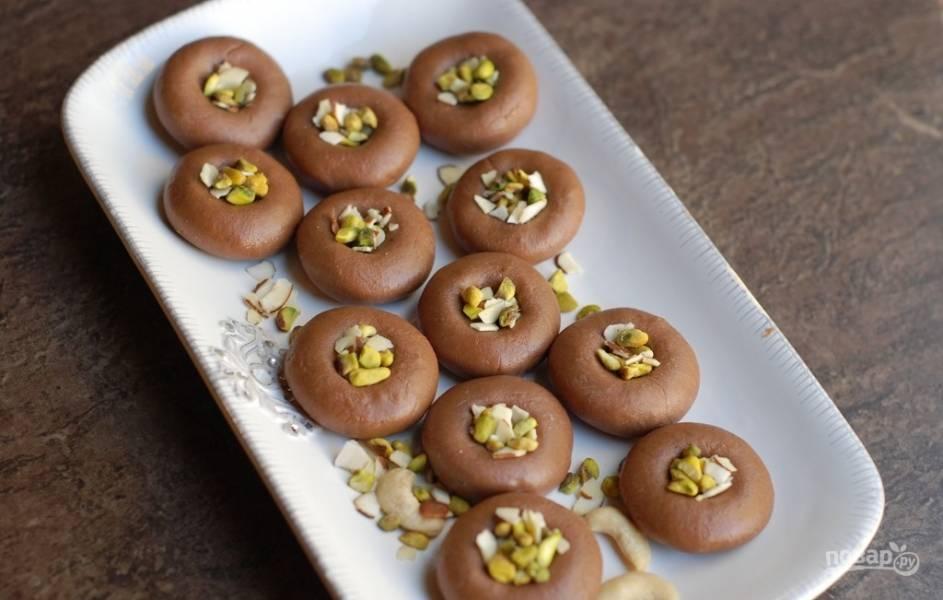 Шоколадная Педа (Индийские ириски)