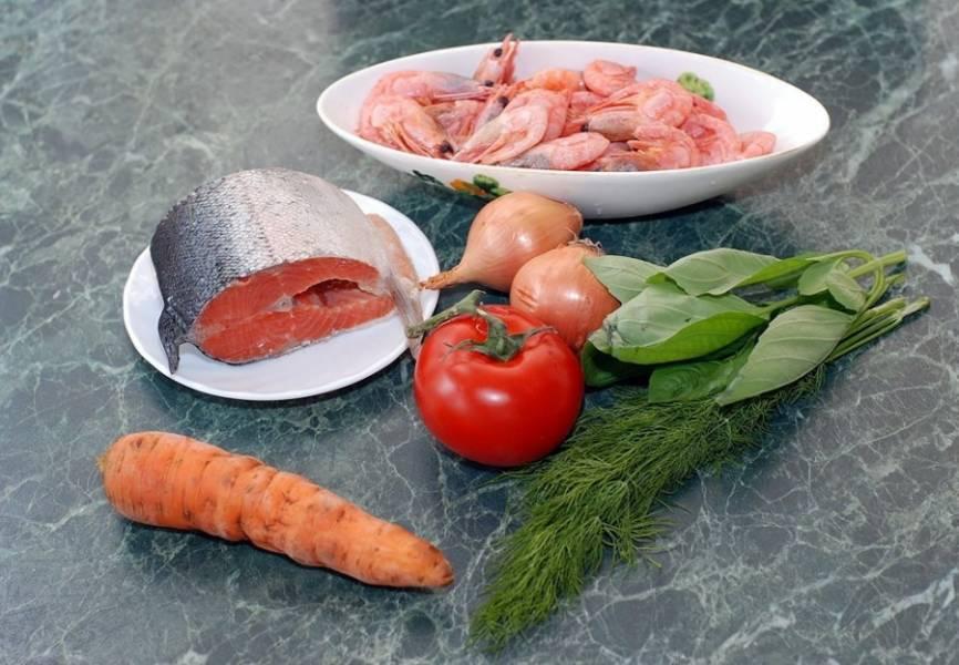 1. Набор ингредиентов довольно простой, хоть его и нельзя назвать скромным.