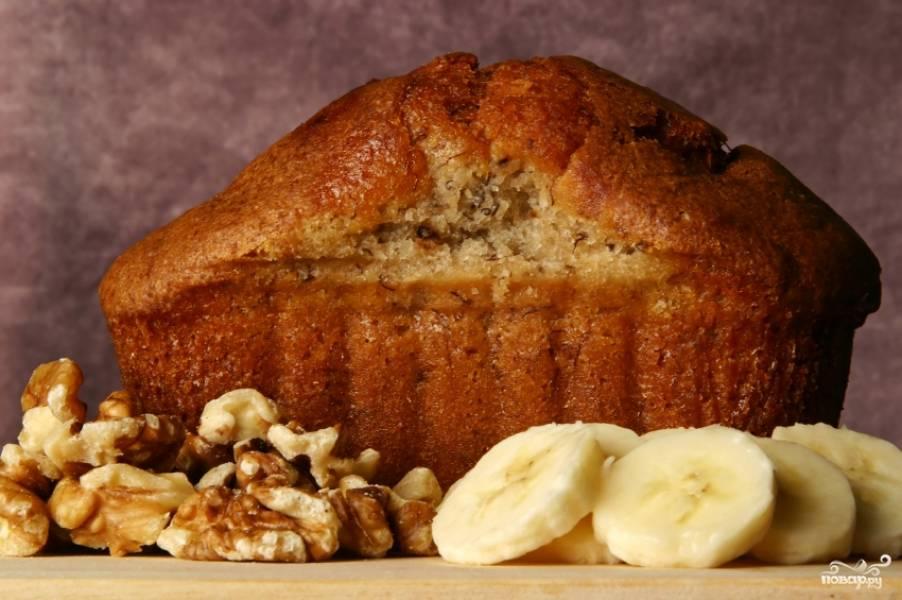 Банановый хлеб в хлебопечке