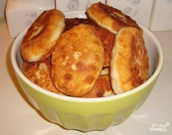 Пирожки с картошкой и мясом