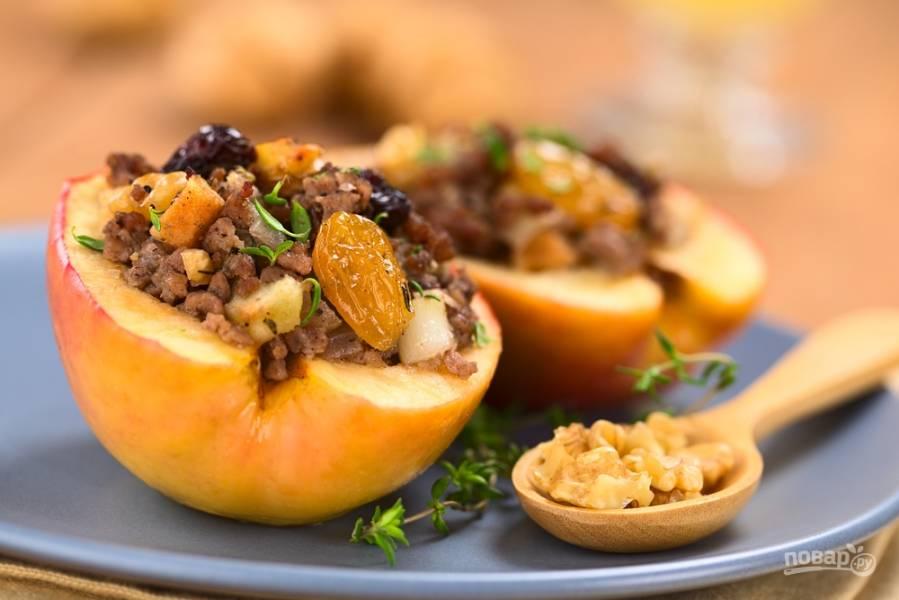 Сезонные рецепты: несладкие блюда с яблоками