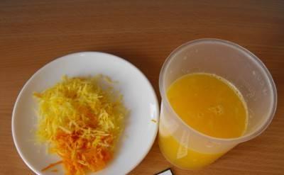 2. Нам нужно получить отдельно цедру лимона и апельсина и отдельно сок. Для этого следует воспользоваться подручной техникой.