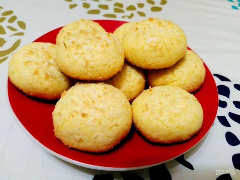 По окончанию выпекания дайте японскому печенью остыть, а затем подавайте к чаю или кофе. Приятного аппетита!
