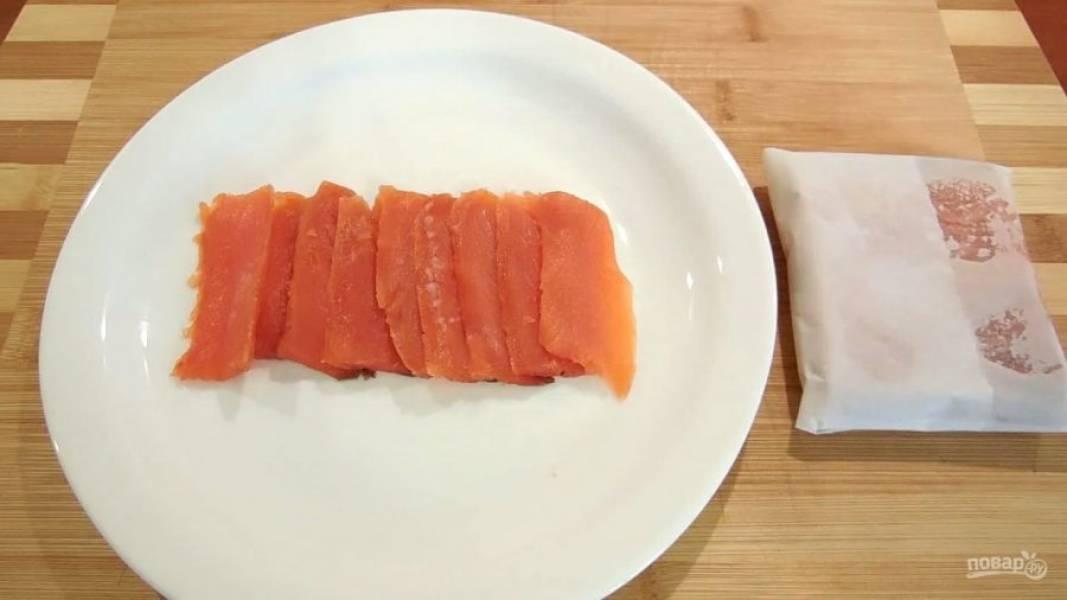 Потом солёную рыбку можно пробовать. Приятной дегустации!