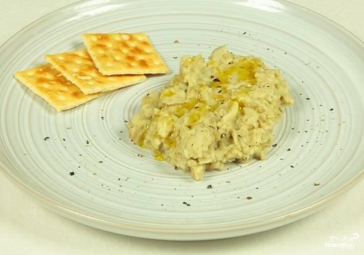 Салат из баклажанов арабский