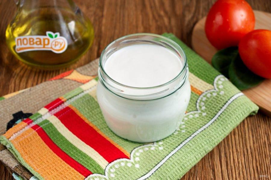 Готовый соус охладите, храните в холодильнике в течение 1-2 суток в закрытой емкости.