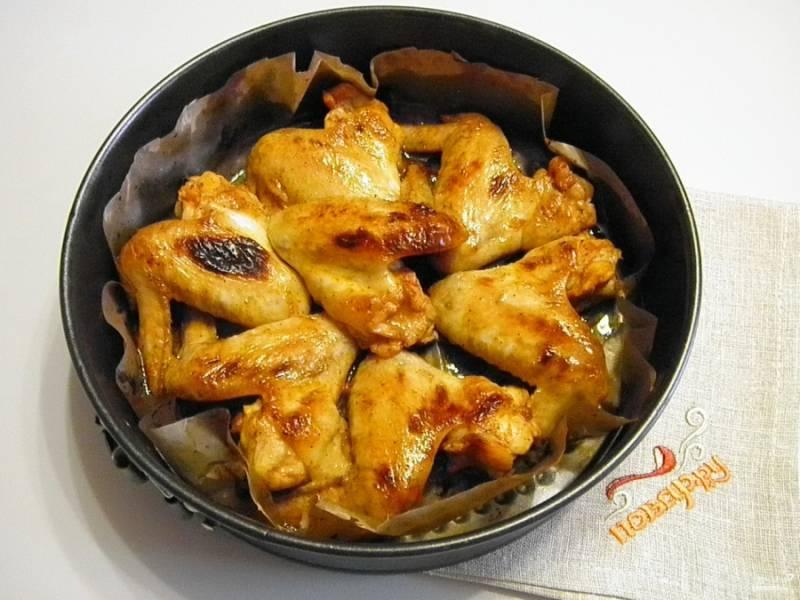Крылышки в медовом соусе готовы! Приятного аппетита!