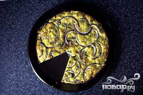 Пирог с цветной капустой и сыром