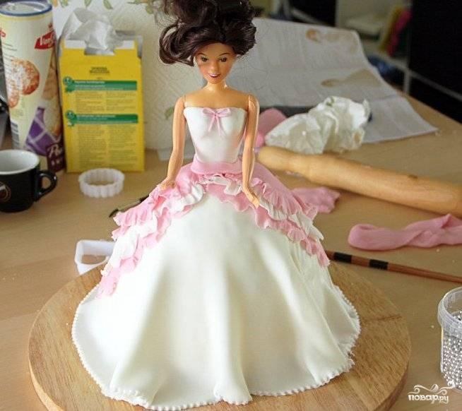 """Торт """"Кукла"""""""