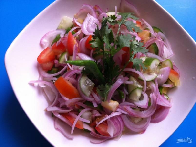 Салат вкусный и простой