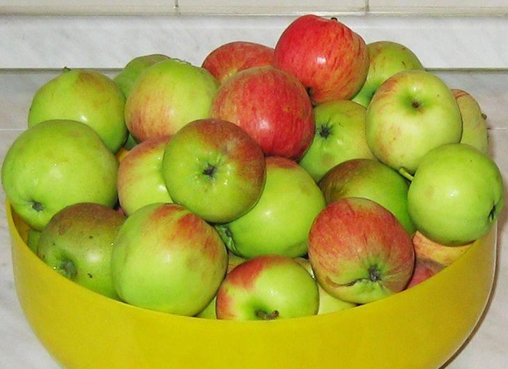 Яблоки моем в холодной проточной воде, нарезаем дольками.