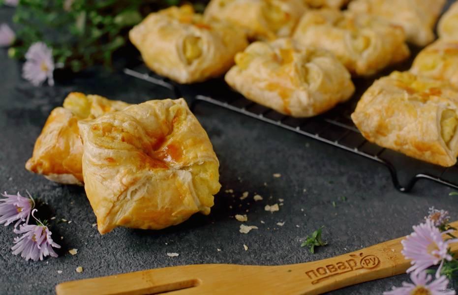 Конвертики с картошкой
