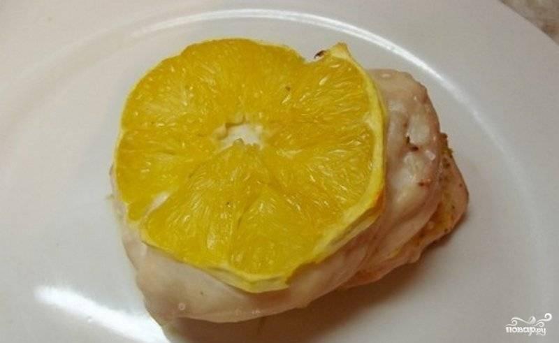 Грудка с апельсинами