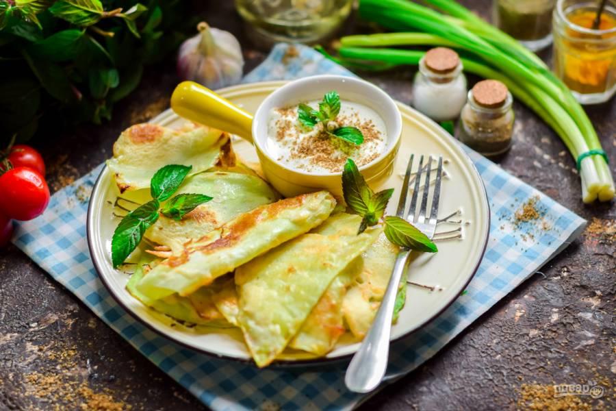 Быстрая закуска из капусты