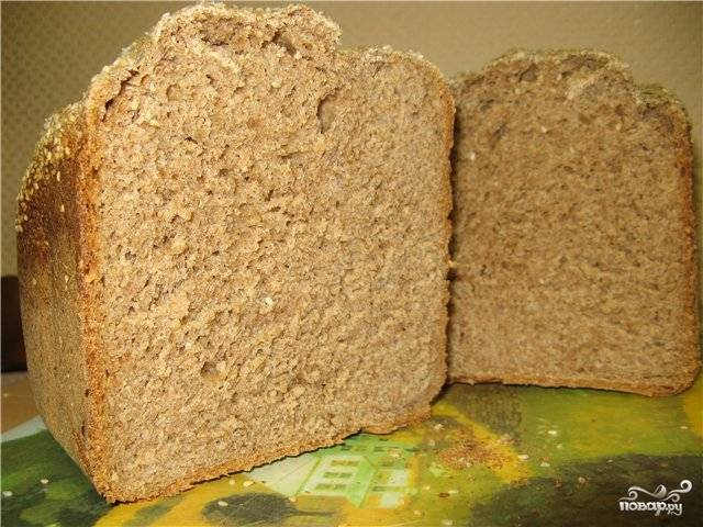 Хлеб в микроволновке