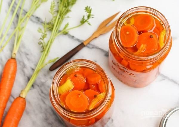 Быстрый маринад для моркови